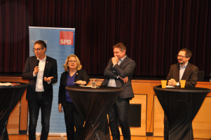 Michael Schrodi, MdB, Svenja Schulze, Hubertus Böck, Bernhard Goodwin